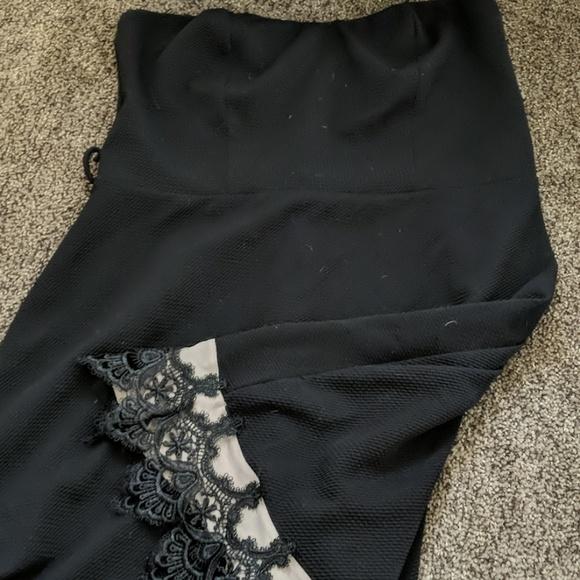 Deb Dresses & Skirts - Strapless DEB Black Dress! LBD